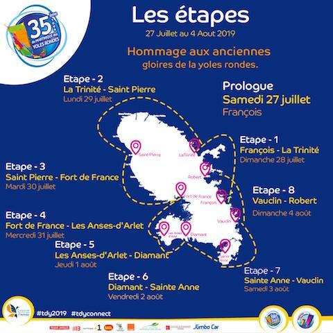 35 ème édition tour des yoles