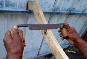 Couteau charpentier - outil de travail