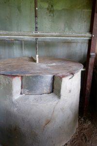 Four du moulin hydroelectrique