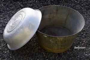 Métier d'hier - bassine