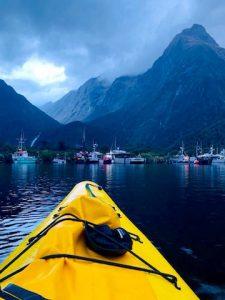 Milford Sound - Kayak en Nouvelle-Zelande