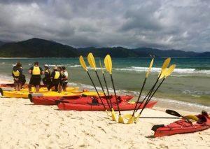 Kayak en nouvelle-zelande
