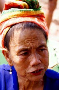 Portrait femme Laos