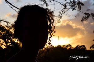coucher de soleil - confinement