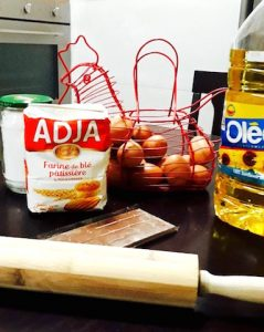 Ingredients patisser