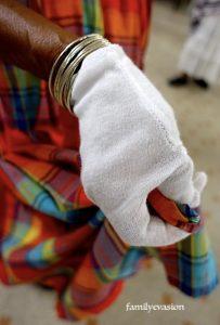 gant de haute taille