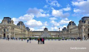 Le Louvre - famille Martin