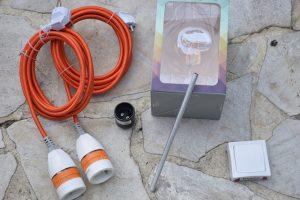 Photo bois flotte - preparation electrique