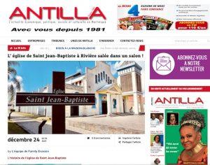 Antilla - Eglise de Saint Jean-Baptiste