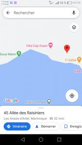 Depart Grande Anse