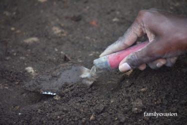 Fouilles archeologiques - Basse-pointe