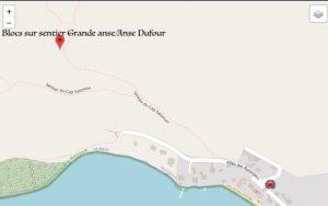 Blocs - Grande Anse à Anse Dufour