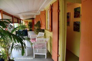 Terrasse - creole arts café - galerie d'arts