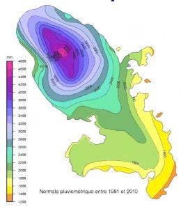 pluviometrie Martinique