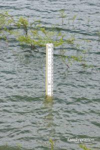 Niveau d'eau - barrage La Manzo