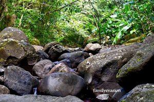 Eboulis de roches andesites - Anba so