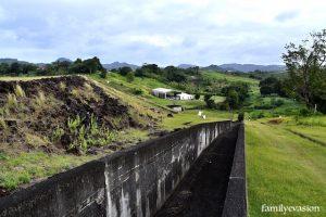 Déversoir - barrage La Manzo