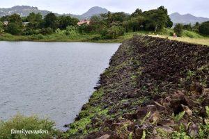 Hauteur barrage La Manzo