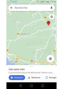 Géolocalisation Foret Montravail