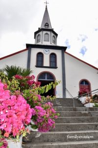 Eglise Morne-Vert - balade florale