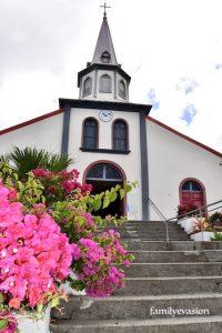 Eglise Morne-vert - Toboggan du Carbet