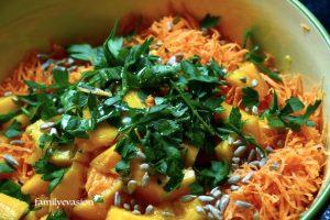 Salade persillée papaye