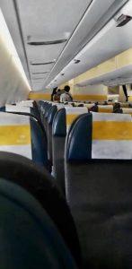 siège avion Covid