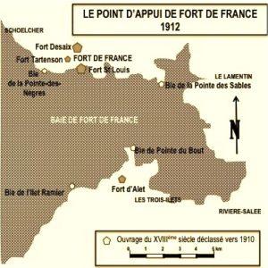 Baie de Fort-de-France en 1912