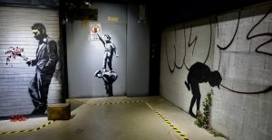 Graffiti interdit - Banksy