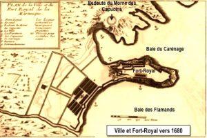 Fort Royal en 1680
