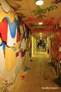 couloir festival des couleurs