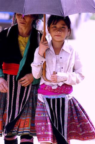 Habit Mong traditionnel