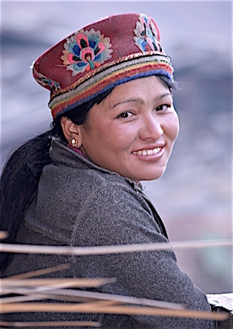 Jeune femme tamang